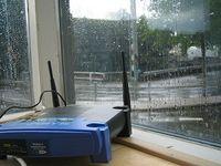 WLAN-Router: haben trübe Sicherheits-Aussichten. Bild: flickr.com, thms.nl