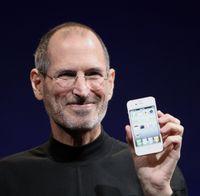 Steve Jobs präsentiert das iPhone4
