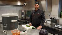 Claudio Korff musste in der Coronakrise seinen Catering-Service schließen.  Bild: ZDF Fotograf: Tobias Krappweis