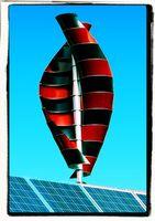 Eine vertikale Windkraftanlage - Frei von schädlichem Infraschall oder sonstig hörbarem Schall - leider ignoriert von der Subventionswirtschaft (Symbolbild)