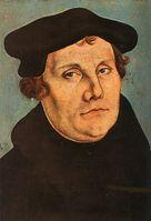 Lutherporträt von Lucas Cranach dem Älteren, 1529