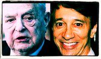 George Soros und Howard Rubin, Archivbild