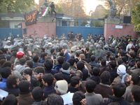 Stürmung der britischen Botschaft in Teheran, 29. November 2011