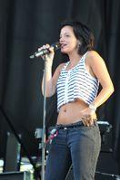 Allen beim INmusic Festival in Kroatien (2009).