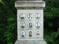 Gedenkstein für die Verstorbenen in Jekaterinburg