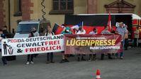 Lügenpresse Banner (Symbolbild)