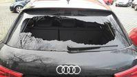 Beschädigter Audi Q3 Bild: Polizei