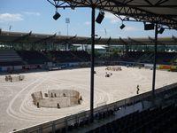 Dressurstadion während des CHIO Aachen 2008