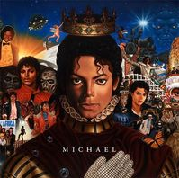 """Cover von Michael Jacksons Album """"Michael"""""""