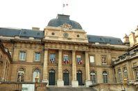 Palais de Justice vom Boulevard du Palais aus gesehen