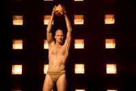 Joachim Meyerhoff als Kreon in Antigone, Burgtheater 2015