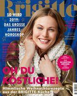 """Cover BRIGITTE 26/2018 / Bild: """"obs/Gruner+Jahr, BRIGITTE"""""""