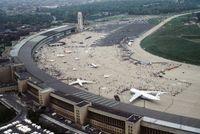 Der Flughafen im Mai 1984