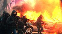Linksterroristen der Antifa im Zerstörungsrausch (Symbolbild)