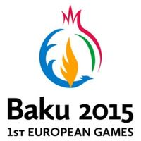 Logo der Europaspiele 2015 in Baku
