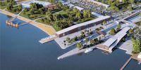 Das geplante neue Ufer des Neusiedlersees (Fertő) bei Kroisbach (Fertőrákos) · Bild: Sopron-Fertő Turisztikai Fejlesztő Nonprofit Zrt. / UM / Eigenes Werk