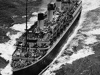 "Das Passagierschiff ""Cap Arcona""."