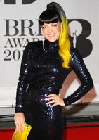 Lily Allen 2014 bei den BRIT Awards