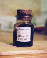 Erdölprobe aus Wietze