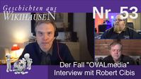 "Bild: Screenshot Video: ""Interview mit Robert Cibis - Der Fall Oval Media 