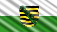 Sächsische Landesflagge (Symbolbild)