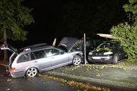 Verkehrsunfall Paulstraße Bild: Polizei