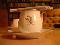 Kaffee und Joint
