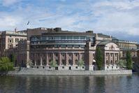 Das Reichstagsgebäude Riksdagshuset
