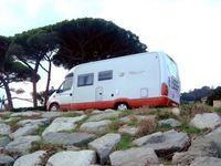 Reisemobil  / Camping (Symbolbild)