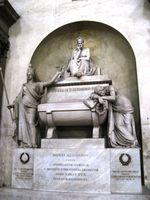 Dante Kenotaph in der Basilika Santa Croce in Florenz (Symbolbild)