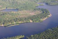 Magpie Fluß (französisch Rivière Magpie)