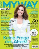 Désirée Nosbusch auf dem Cover der neuen MYWAY-Ausgabe 8/2013. Bild: Bauer Media Group