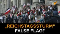 """Bild: Screenshot Video: """"""""Reichstagssturm"""" False Flag? """"Staatlich inszenierte Nummer mit V-Leuten"""""""" (https://youtu.be/Ze8HlZK1hDI) / Eigenes Werk"""