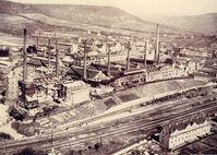 """Das Jenaer Glaswerk Schott & Gen. um 1940. Es gehörte bereits damals zu den führenden Spezialglasherstellern weltweit. Bild: """"obs/SCHOTT AG"""""""