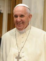 Papst Franziskus (2015), bürgerlicher Name Jorge Mario Bergoglio SJ