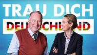 AfD-Bundesvorstand: Alice Weidel und Alexander Gauland (2017), Archivbild