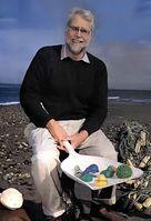 Curtis C. Ebbesmeyer mit Plastikstrandgut