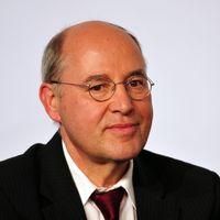 Gregor Gysi 2013 beim Wahlhearing des DOSB