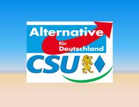 AfD-CSU Koalition Logo