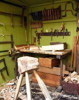Holzverarbeitung, Schreinerei, Handwerk (Symbolbild)