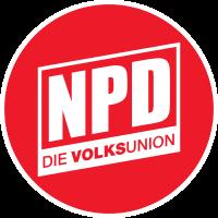 Parteilogo - Nationaldemokratische Partei Deutschlands (NPD)