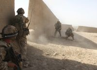 Britische Soldaten in der  Helmand Province, Afghanistan. Bild: Ministry of Defence - wikipedia.org