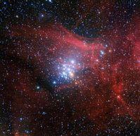 Der Sternhaufen NGC 3293 Quelle: Bild: ESO/G. Beccari (idw)