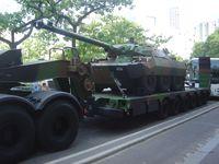 AMX-10 RC auf Tieflader (Symbolbild)