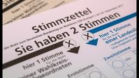 Stimmzettel, Wahl (Symbolbild)