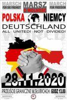 Großdemo mit unseren Nachbarland Polen am Grenzübergang in Frankfurt (Oder) / SUBICE am 28.11.2020