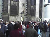 Protestkundgebung in Wittenberg Bildquelle: Wahrheit.EU