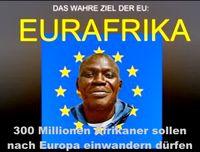 Eurafika: Viele Europäer sehen starke Indizien, daß Europa mit Afrikanern bevölkert werden soll (Symbolbild)