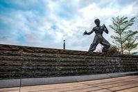 "Bruce Lee Statue in der Avenue of Stars in Hongkong /  Bild: ""obs/Hong Kong Tourism Board"""