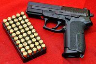SIG SP 2022 ist eine halbautomatische Pistole von SIG Sauer (Symbolbild)